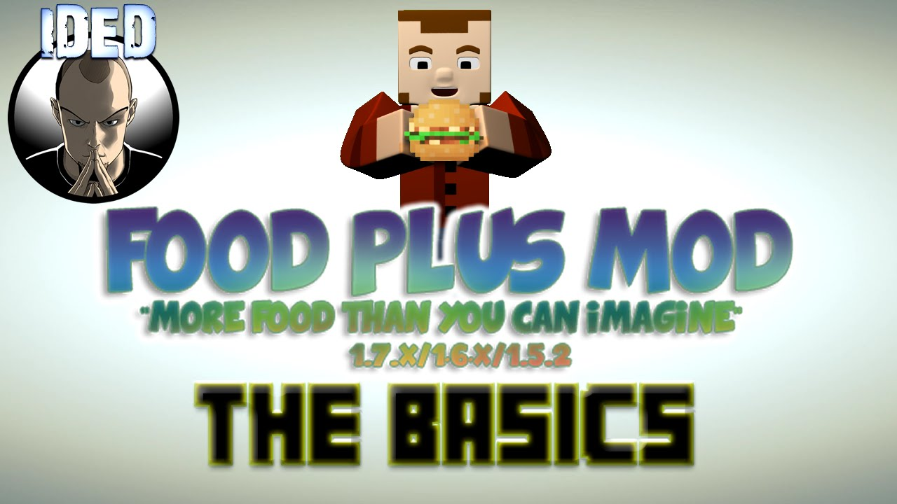 how to make basic food minecraft