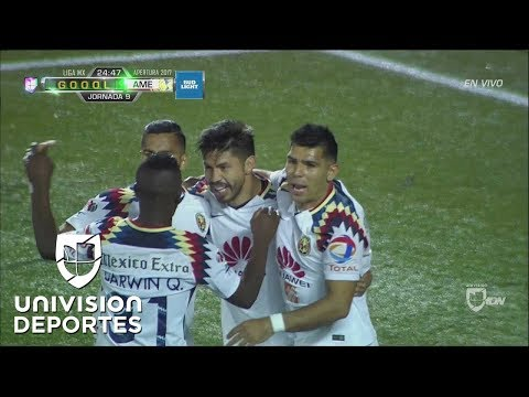 Cecilio Domínguez hizo la gran jugada y Oribe Peralta el 1-0 de América sobre Xolos