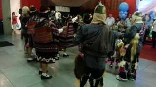 Danza de los Llameritos de Parinacochas en Milán 2013 (2/3)