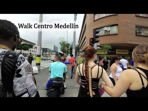 Walk in Centro Medellin Colombia Ft Marwa