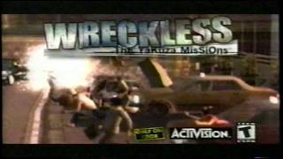 Reckless: The Yakuza Missions Xbox Video Game TV Commercial