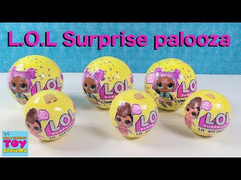 LOL Surprise Confetti Pop Lil Sisters Series 3 Doll Review Opening   PSToyReviews