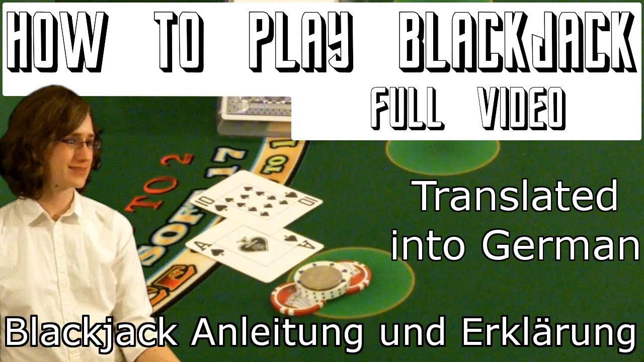 blackjack lernen video