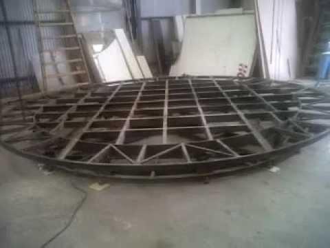 plataforma giratoria disco giracoches - YouTube