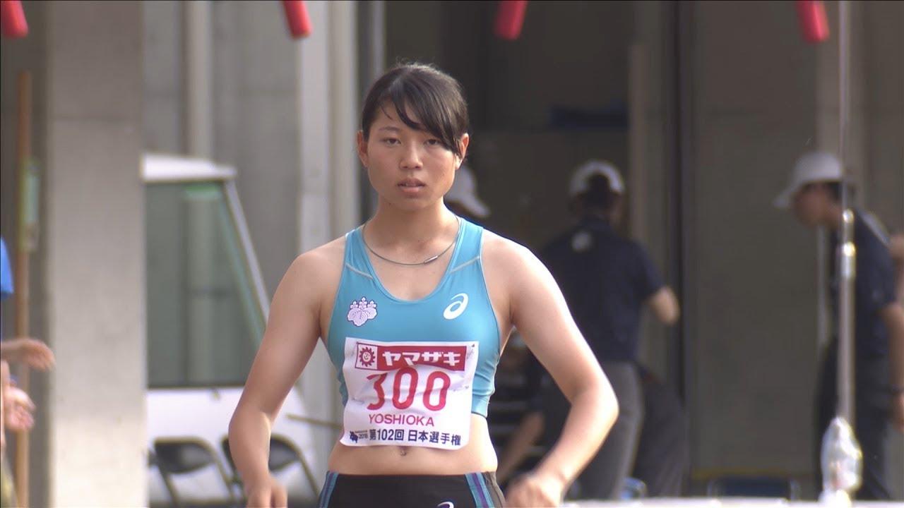 女子 走幅跳 決勝7位 第102回日本陸上競技選手権大会