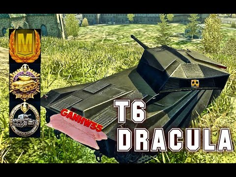 T6Dracula world of tank blitz Feat Ganhw35 Aced Gameplay 5300 DMG Kolobanov + Commentary