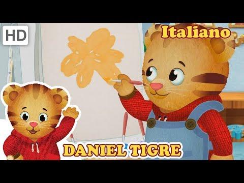 Daniel Tiger in Italiano - Stagione 2 (Parte 4/4) Momenti Migliori | Video per Bambini