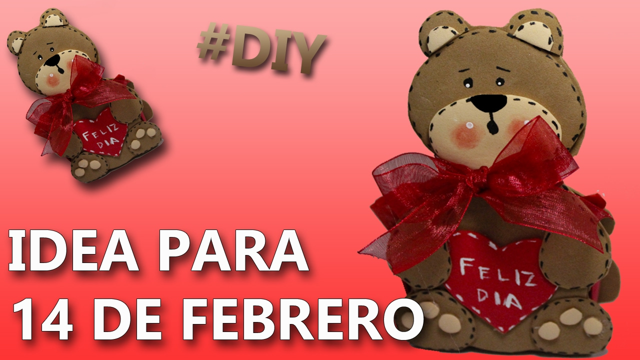 Idea para regalar el 14 de febrero manualidades 14 de - Manualidades decorativas para el hogar ...