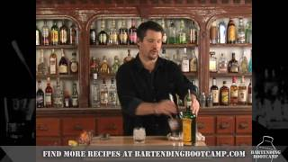 How To Make A Rusty Nail Cocktail - Drink Recipes From Bartending Bootcamp