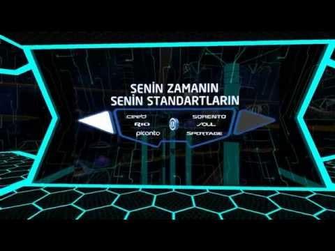 KIA Auto Show 2015 Istanbul Virtusphere Walking Simulation