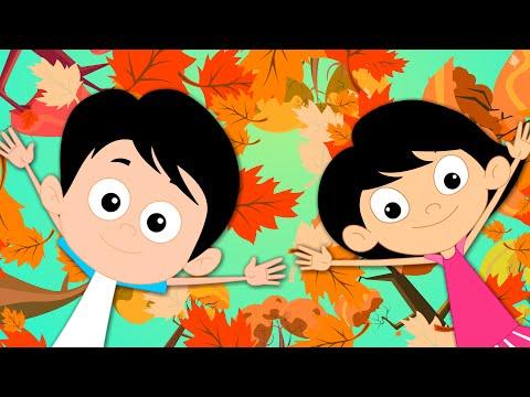 Autumn Song | Season Of Fall Song | Autumn Season | Kids Tv Nursery Rhymes