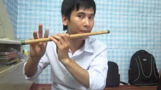Hướng dẫn thổi sáo: Làng quan họ quê tôi (Cao trí minh)
