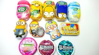 New Tic Tac & Ice Breakers Candy Collection Minions and Simpsons