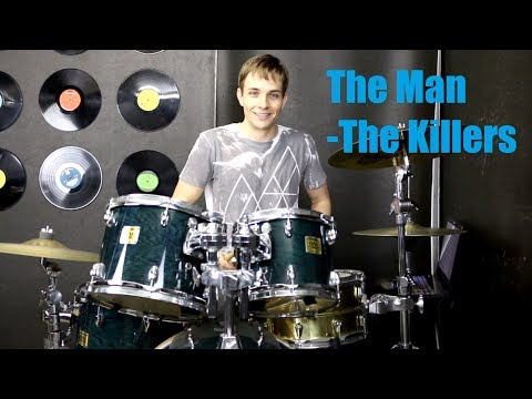 The Man Drum Tutorial - The Killers