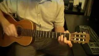 a minor chord open position fingering 2
