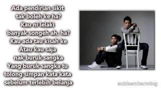 Sleeq Feat Joe Flizzow -Tepi Sikit (Lirik)