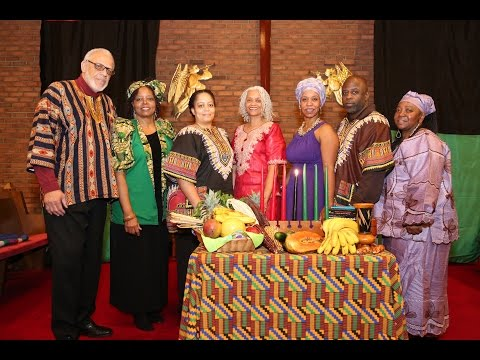 Sister Nancy Grier  Umoja Celebration Kwanza  In Paterson