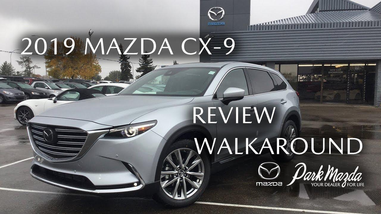 2019 Mazda Cx 9 Signature Sonic Silver Metallic 45p Review Sherwood