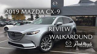 2019 Mazda CX-9 SIGNATURE SONIC SILVER METALLIC(45P)  Review Sherwood Park Alberta - Park Mazda