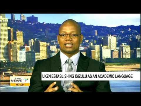 UKZN establishing isiZulu as an academic language