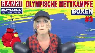 BOXEN - Boxing - Boxeo #3 - Olympic Wettkampf - Original Banni Sport Fan Style & Make-up
