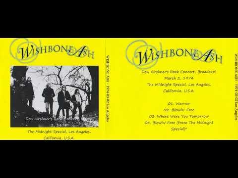 WISHBONE ASH live in Los Angeles, 02.03.1974