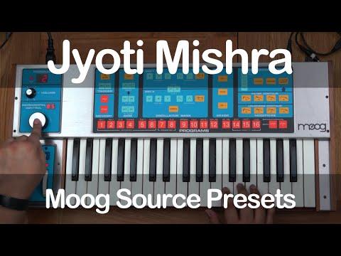 Moog Source Presets by Jyoti Mishra