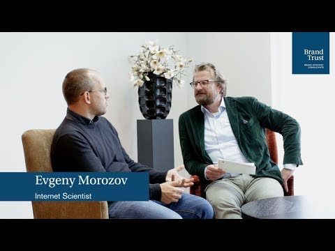 Evgeny Morozov about the role of Europe in the Digital Transformation