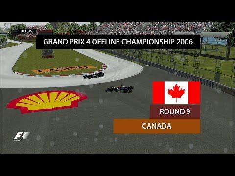 Grand Prix 4 OC 2006   Round 9   Canadian Grand Prix Highlights