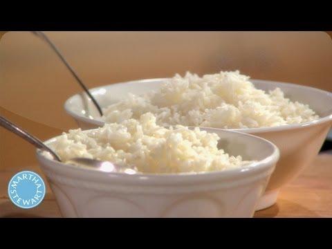 How to Clean White Rice - Martha Stewart