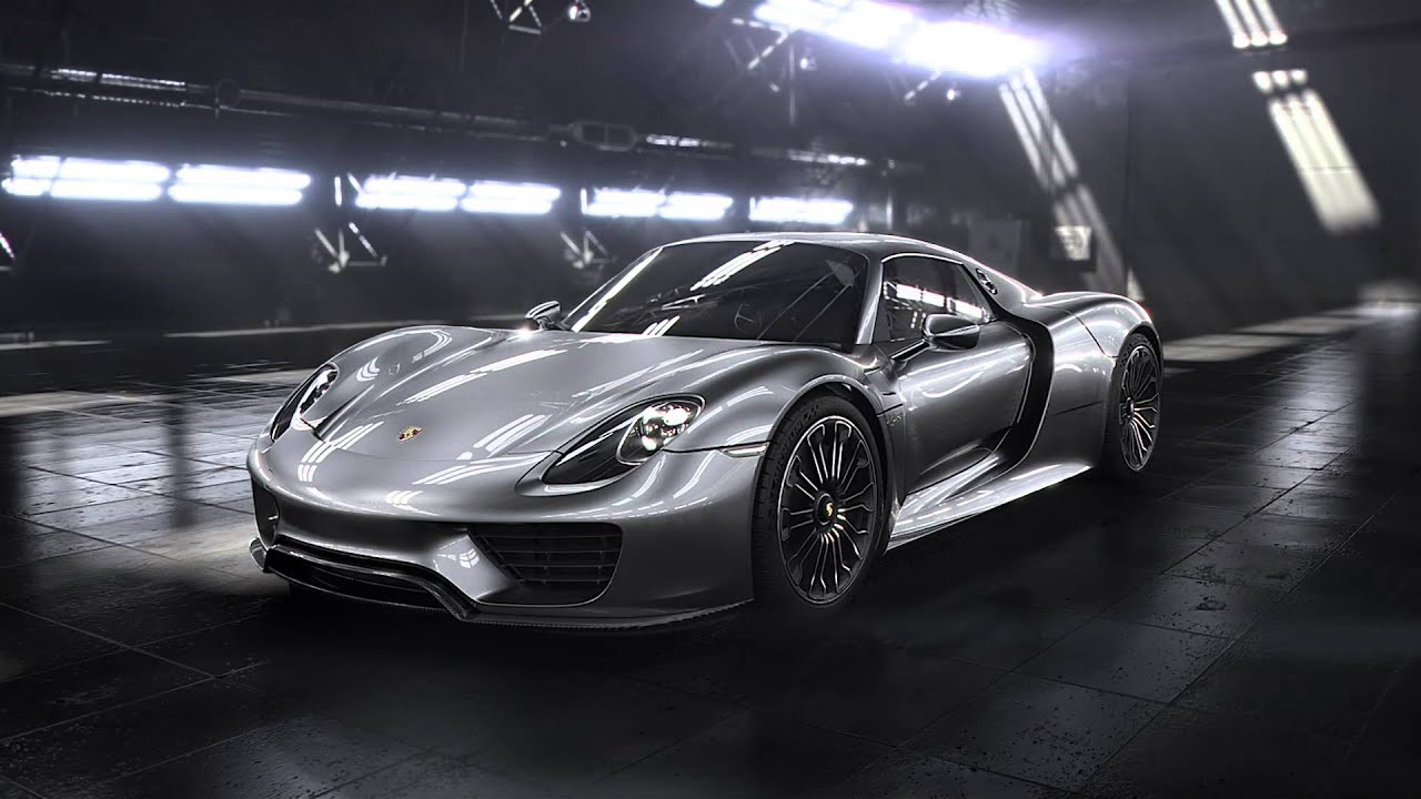Porsche 918 Spyder 2013 Official Reveal Promo Youtube