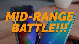 Gambar cover MID-RANGE BATTLE! SAMSUNG GALAXY A50 vs HUAWEI P30 LITE