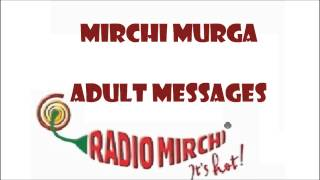 Rj Kunal | Mirchi Murga | Adult Messages Gujarati