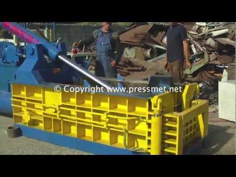 Hydraulic baler, Гидравлический пресc для металлолома Y83-135B