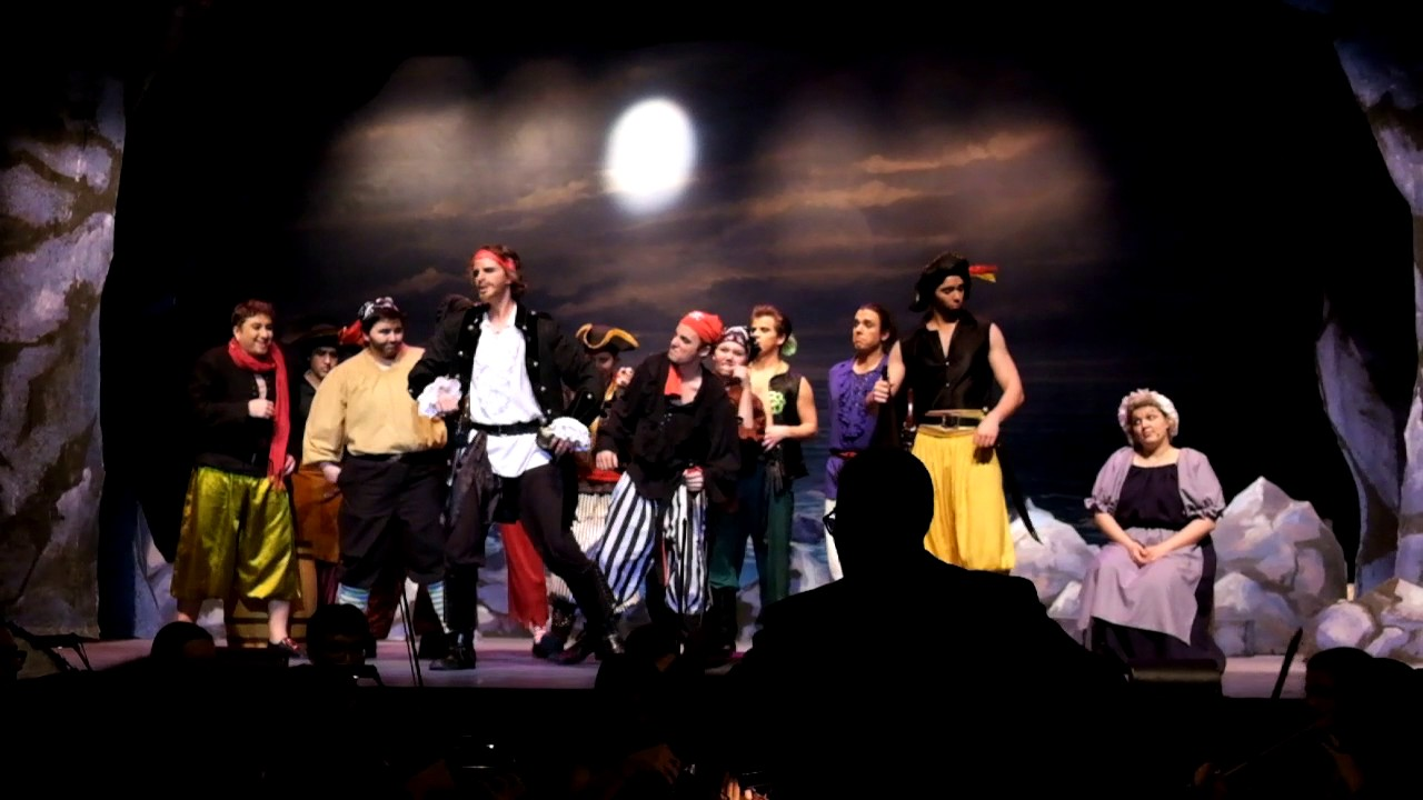 "The Pirates of Penzance:""Oh, better far to live and die"" (gags night)"