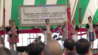 Hmong OK Pageants opening dance 2016