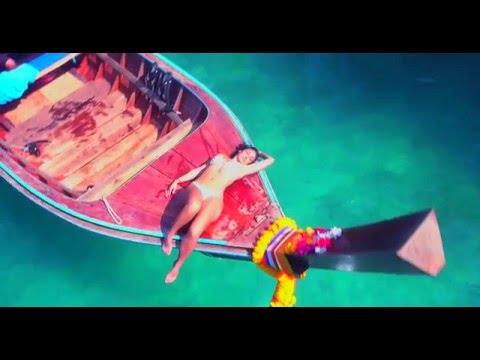 Thailand Phi Phi and Phuket Drone DJI phantom 4 boats and model 4k video
