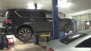 Ремонт катализаторов Lexus LX470. Ремонт катализаторов в СПБ.(, 2014-04-07T07:09:45.000Z)