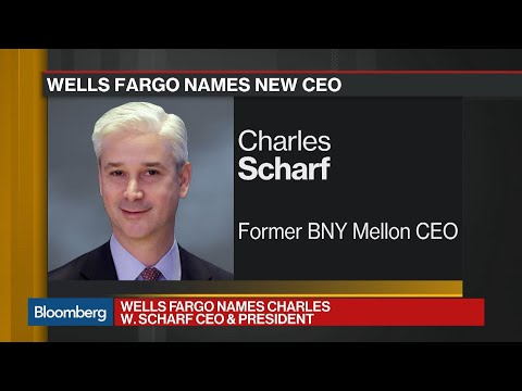 Wells Fargo Names BNY Mellon's Scharf As CEO
