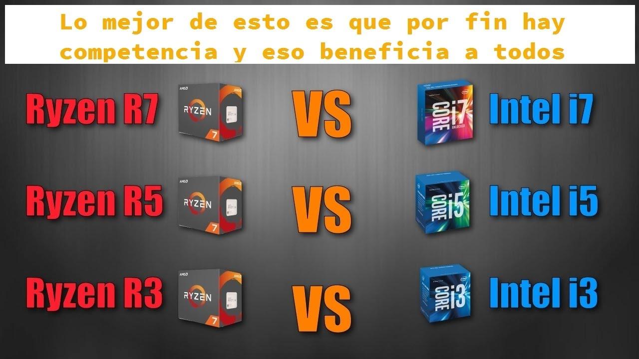 Procesadores: AMD Ryzen 5 vs Intel Core i5 para gaming y productividad  (gama media)