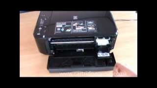 Canon Pixma MG3150: How to set up and install ink cartridges