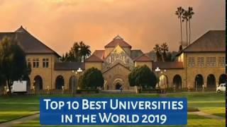 Top 10 Best Universities In The World 2019(720p)