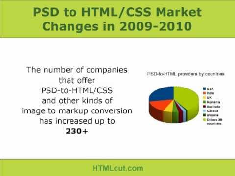 PSD to HTML 2010