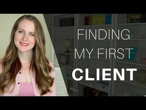 How I (actually) Got My First Client Online