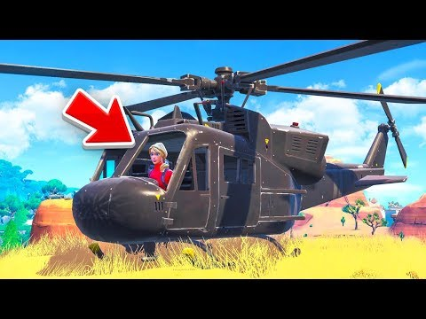 The HELICOPTER Challenge in Fortnite! thumbnail
