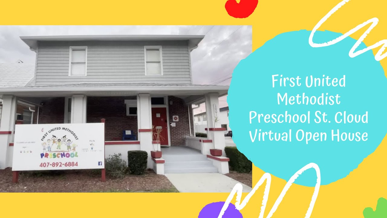 Virtual Open House and Tour - First United Methodist Preschool St. Cloud