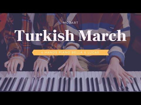 🎵Mozart (모차르트) - Turkish March (터키 행진곡) | 4hands piano