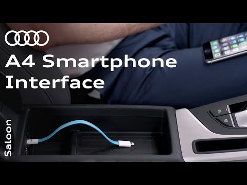 Using the Audi A4 Smartphone Interface for Navigation