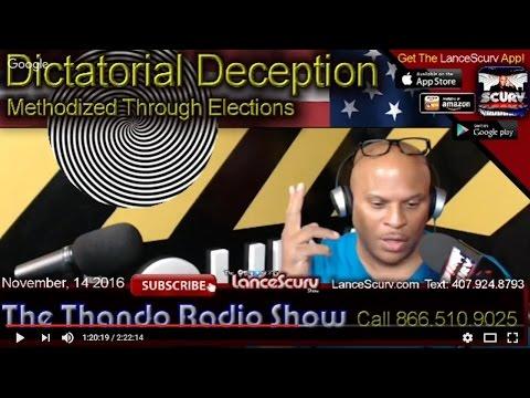 Dictatorial Deception Methodized Through Elections! - The Thando Radio Show