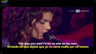 What I Miss About You - Katie Melua [Live AVO Session] (English - Spanish) lyrics